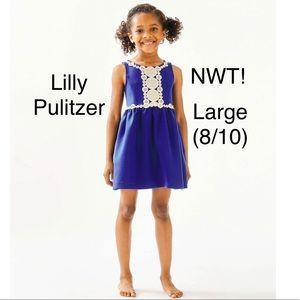 lilly pulitzer baylee girls dress large 8/10